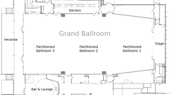 Manzanita Place Chico Grand Ballroom Floorplan Manzanita